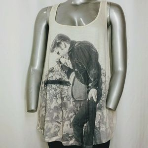 F21 Elvis Presley Racer Back Tank Top 3X